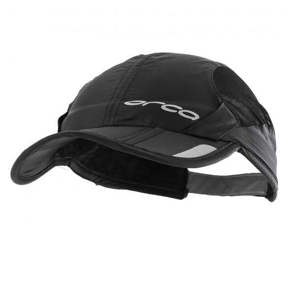 Orca Foldable running cap black  HVAZ01