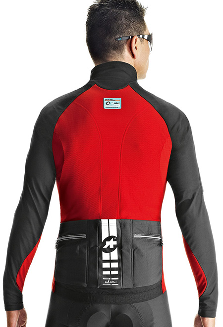 418cbdf2e Assos iJ.haBu.5 cycling jacket red men online  Order Find it at ...