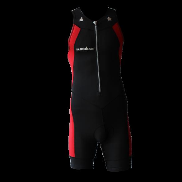 Ironman trisuit front zip sleeveless multisport black/red men  IMT502-15/05