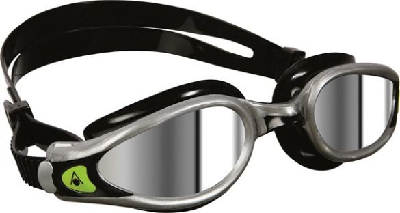 new specials new high quality classic fit Aqua Sphere Kaiman EXO mirror lens goggles black/silver
