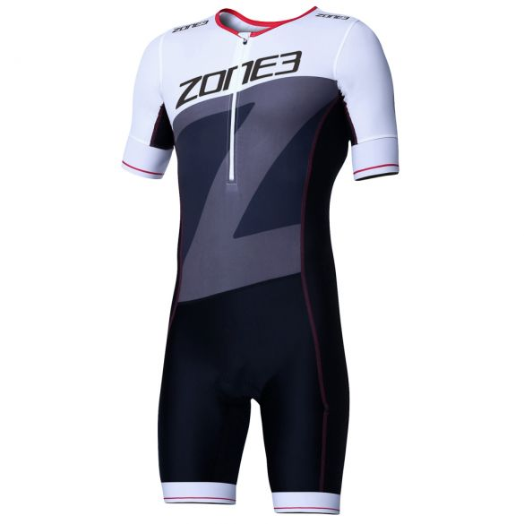 Zone3 Lava long distance short sleeve trisuit men  TS18MLSS102