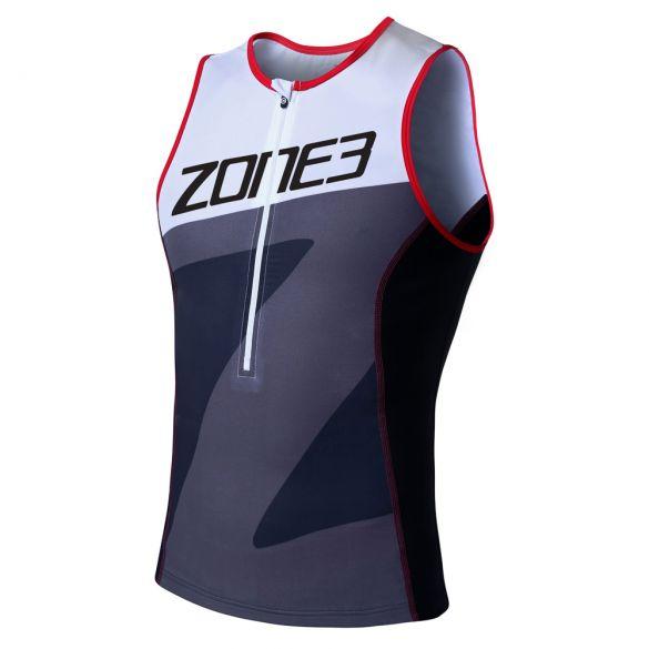 Zone3 Lava long distance sleeveless tri top men  TW18MLTO102