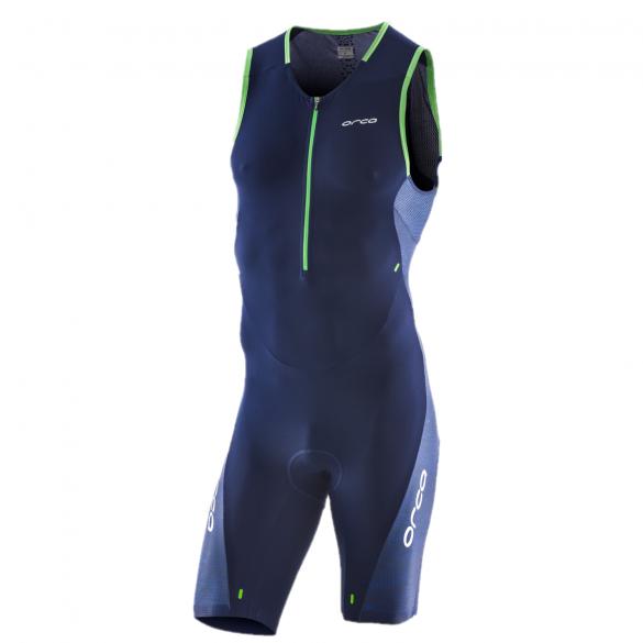 Orca 226 Perform race sleeveless trisuit blue/green men  JVD088
