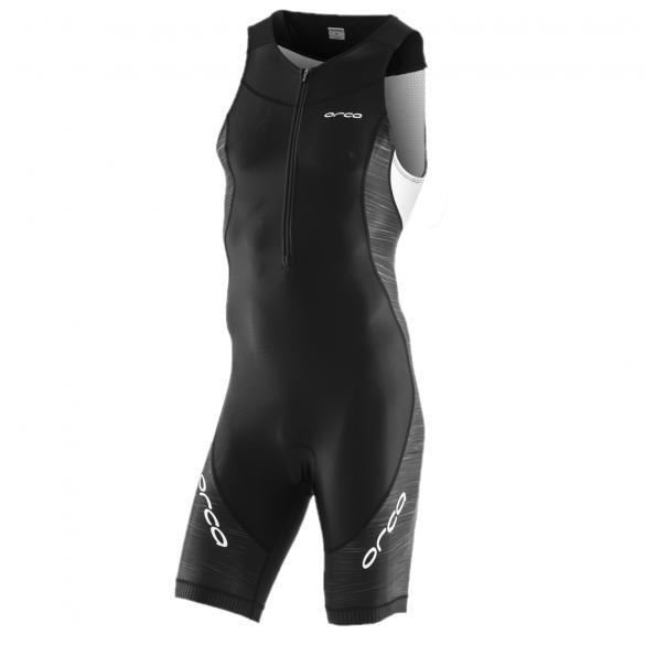 Orca Core race sleeveless trisuit black/white men  JVC002