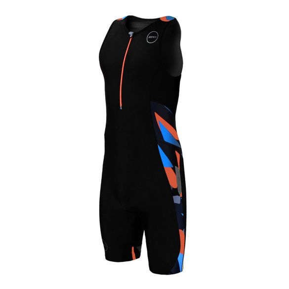 Zone3 Activate plus sleeveless trisuit Midnight camo men  TS18MACP113
