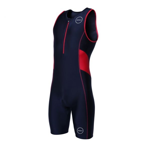Zone3 Activate sleeveless trisuit black/red men  TS18MACT108VRR