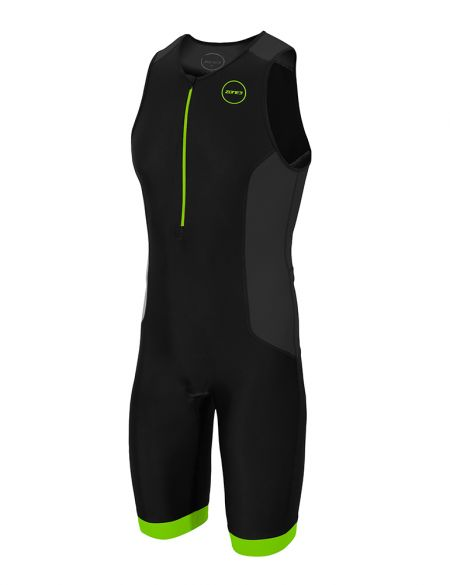 Zone3 Aquaflo plus Sleeveless trisuit black men  TS18MAQP109