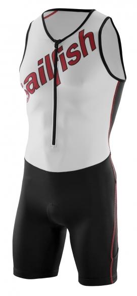 Sailfish Tri suit team red-white men    sl21739