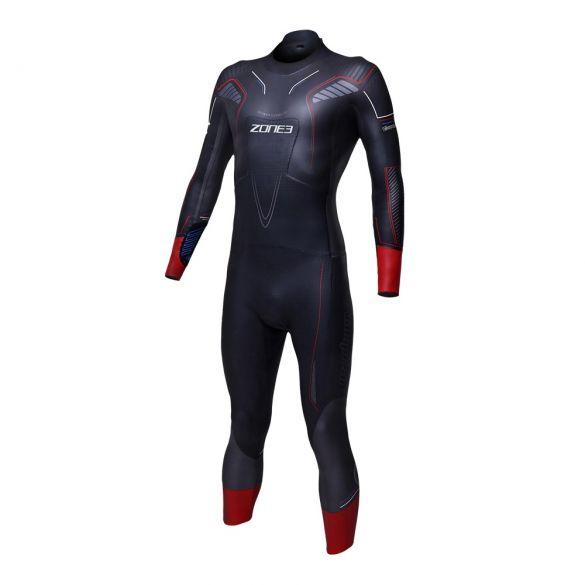 Zone3 Vanquish used wetsuit men size ML  WS18MVAN101GBRKTML