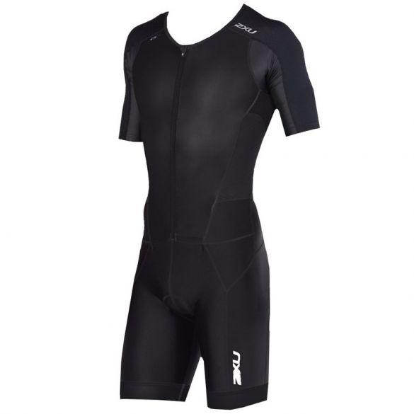 2XU Perform short sleeve trisuit black men 2018  MT4847d-BLK/BLK-VRR