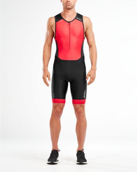 2XU Perform sleeveless trisuit black/red men  MT4848d-BLK/TRD-vrr