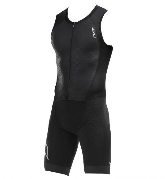 2XU Compression sleeveless trisuit black men  MT5517D-BLK/BLK