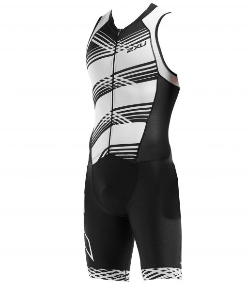 2XU Compression sleeveless trisuit black/white men MT5517d  MT5517d-BLK/BWL