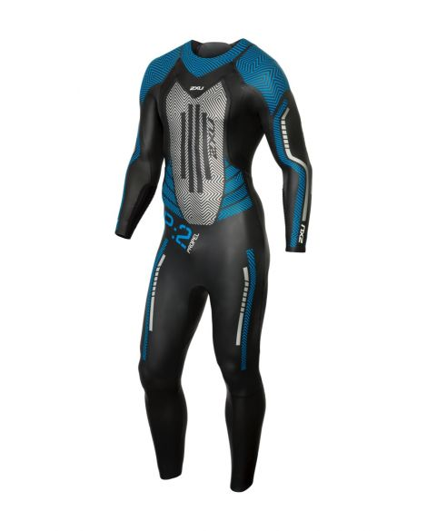 2XU P:2 Propel full sleeve wetsuit black/blue men  MW4990c-BLK/DRB