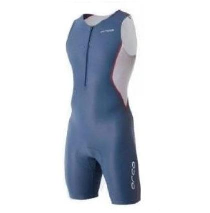 Orca Core Basic Race suit men blue grey/white/orange  ORCACOREBBGWO-VRR