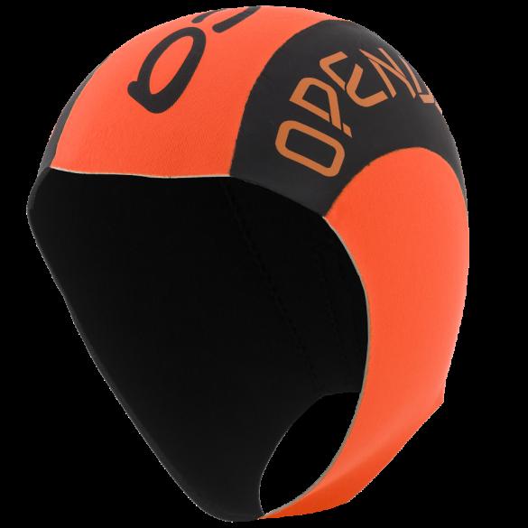 Orca Neopreen swim cap black/orange  DVAC54