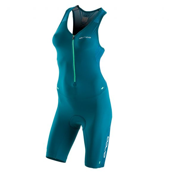 Orca 226 Kompress race trisuit sleeveless blue women Kopie  KP5288