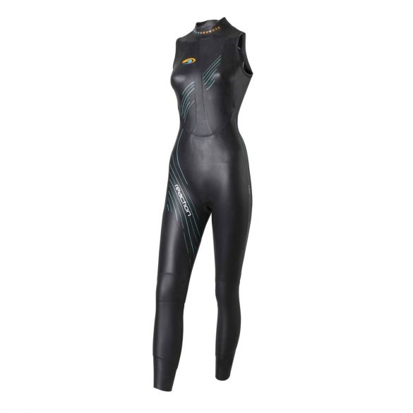 Blueseventy Reaction sleeveless wetsuit women  WSRLJ-17-BLK-W