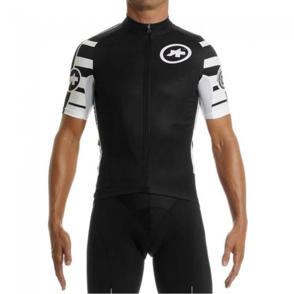 c3b549b2b Assos SS.mangussta s7 cycling jersey black unisex online  Order Find ...