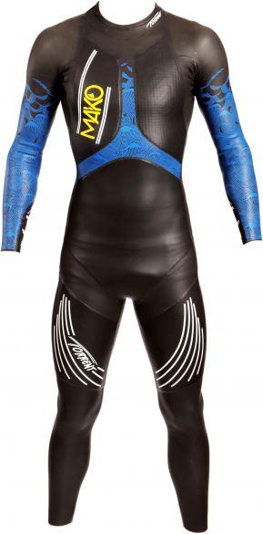 Mako Torrent full sleeve wetsuit black/blue men  151001