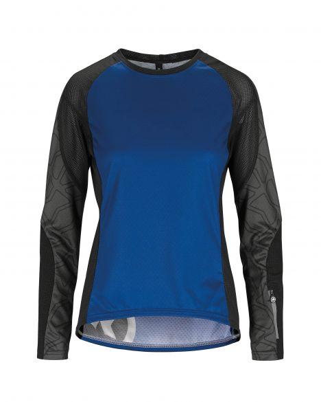 Assos Trail LS Jersey blue women  522420774