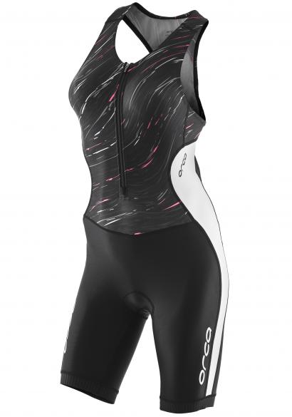 Orca Core race sleeveless trisuit black/white women  JVC502