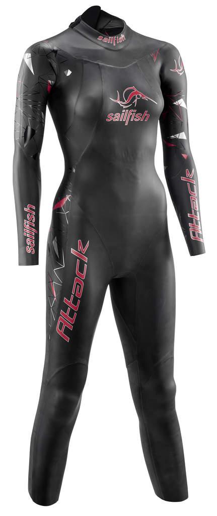 Sailfish Attack fullsleeve wetsuit women   SL6223