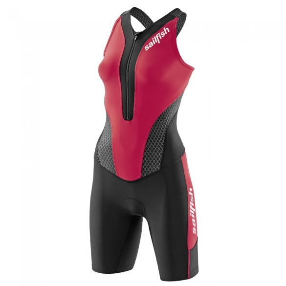 Sailfish Competition trisuit women red 2015  STCOMWR