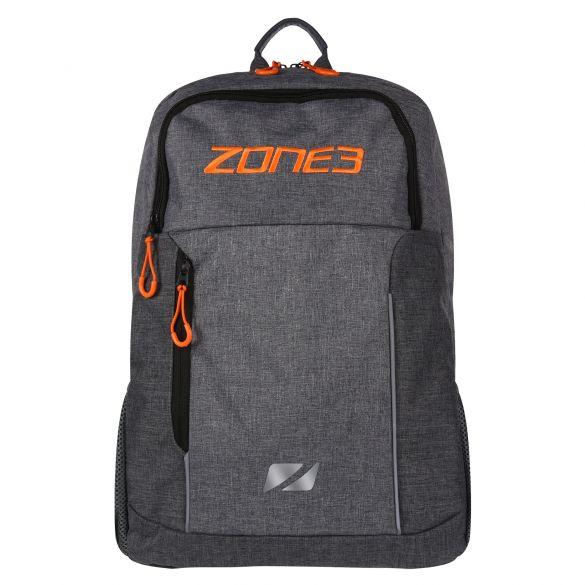 Zone3 Workout backpack grey/orange  RA19WOBP