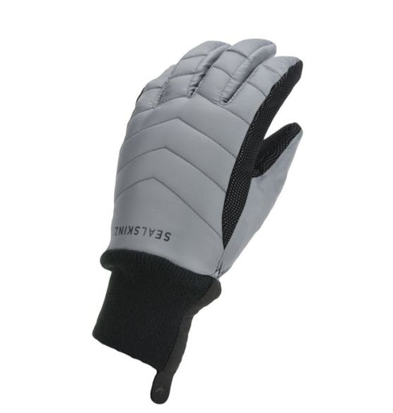 SealSkinz All weather insulated gloves grey men  12100078-0010