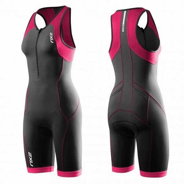 2XU G:2 Active trisuit black/pink women   WT3119d