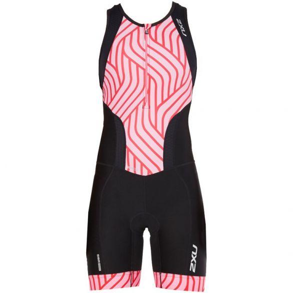 2XU Perform sleeveless trisuit black/pink women 2018  WT4855d-BLK/RPT