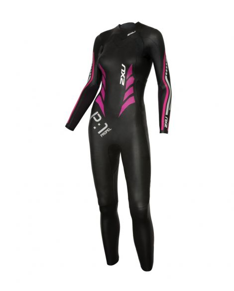2XU P:1 Propel full sleeve wetsuit black/pink women  WW4994c-BLK/PPK