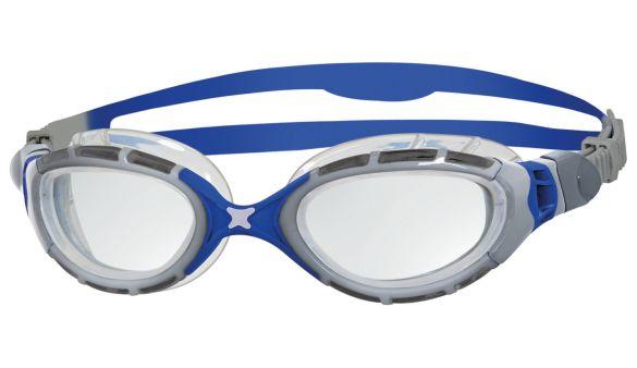 Zoggs Predator flex 2.0 goggles silver/blue  332848