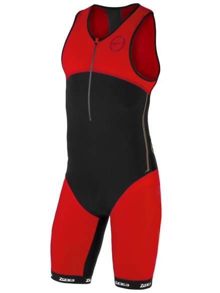 Zone3 Aeroforce nano tri suit black/red men  Z16158VOORRAAD