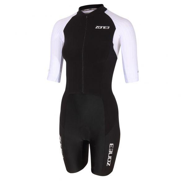 Zone3 Lava long distance FZ short sleeve trisuit women  TS20WLFZ101