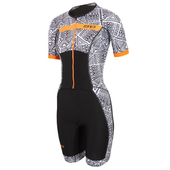 Zone3 Activate plus kona speed trisuit short sleeve women  TS21WACPS101