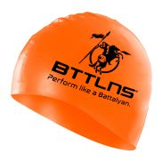 BTTLNS Silicone swimcap neon-orange Absorber 2.0