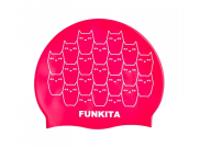 Funky Trunks Silicone swimming cap Funkita Kitten Kluster