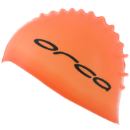 Orca Silicone swimcap orange