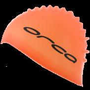 Orca Silicone swimcap orange