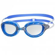 Zoggs Predator goggles silver/blue