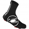 Castelli Diluvio shoecover 16 black/white mens 14538-010