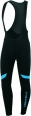 Castelli Velocissimo 2 bibtight black/blue mens 14525-591