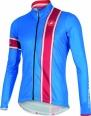 Castelli Storica jersey FZ blue/red mens 15532-059