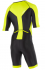 2XU X-vent Sleeved Full Front Zip Trisuit black/yellow men  MT4355dBLK/LPU