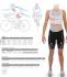 Castelli Short distance W race trisuit back zip sleeveless mint/yellow/black women  18120-060