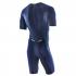 Orca 226 Perform aero race short sleeve trisuit blue/green men  JVDD88