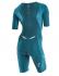 Orca 226 Perform aero race short sleeve trisuit blue/green women  JVDF89