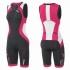 2XU Compression Full Zip trisuit black/orange women    WT3619d